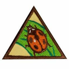 Brownie Bugs Badge. Badge requirements available in The Girl's Guide to Girl Scouting. $1.50.