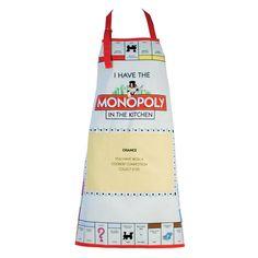 Monopoly Apron