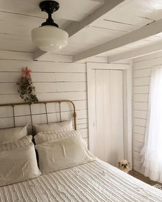 white cottage room