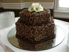 Design Wedding Cakes and Toppers: Chocolate Groom's Cake chocolate grooms cake, chocolate groom's cake, chocol groom, anniversary cakes, wedding cakes, groom cake, cake add, anniversari cake