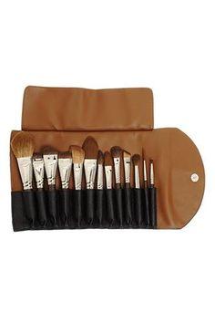 travel brush, makeup brush, brush set, riaz travel, brushes, beauti, brush collect, claudio riaz, travel makeup