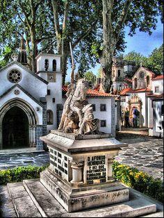 #Coimbra, Portugal of the tiny ones, Portugal dos Pequenitos, Centro de Portugal Region, Portugal  by Hermenegildo the Barbarian