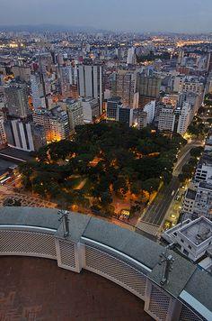 Edifício Itália e Copan - São Paulo  Brazil
