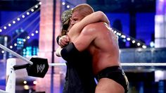 WWE.com: Triple H vs. Brock Lesnar - No Holds Barred Match with Triple H's Career on the Line: photos #WWE