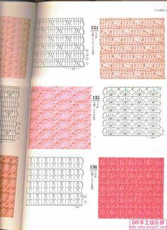Dina Inspirações: Pontos de Crochê