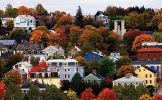 Rhode Island in the fall