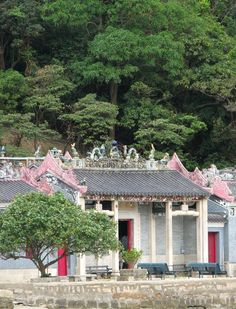 "Challenge in Hong Kong: Find this old Chinese temple in the village of Tai-O & leave a quote (outside, in geocache) that will put a smile on the face of the next geocacher. Take a pic of the geocache & pin it here in ""Geocaching Challenges"" - WRITE the exact geolocation (comment on geocache pin). WRITE ""Game is On"" on original pin."