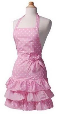 Marilyn Strawberry Shortcake hostess apron