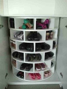 Spinning Shoe Rack(: