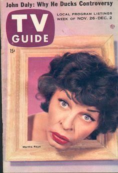 "November 26, 1955. Martha Raye of NBC's ""The Martha Raye Show."""
