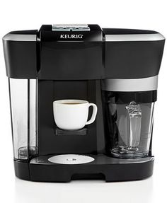 Your morning coffee dose just got better (and easier): the Keurig R500 Rivo Cappuccino and Latte Single Serve Brewer is lets you enjoy your favorite caffeinated drink at the mere touch of a button. So when you amble into the kitchen bleary-eyed, this gourmet go-to will do the work for you.