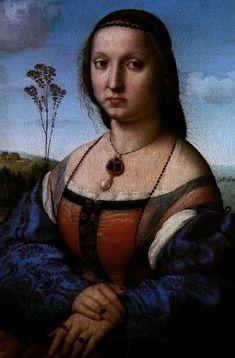 Maddalena by Raphael Sanzio