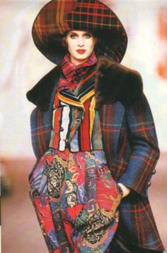 Christian Lacroix, Vogue Deutsch, July 1989, fall 1989 runway.