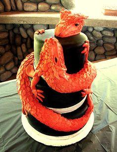 Genial pastel de bodas