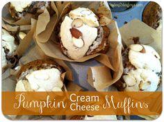 Delicious Pumpkin Cream Cheese Muffins {Better & healthier than Starbucks!}