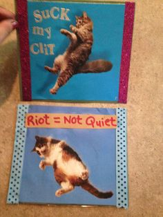 Old Skool RG cat collages by TheEscapistArtist on Etsy, $6.00