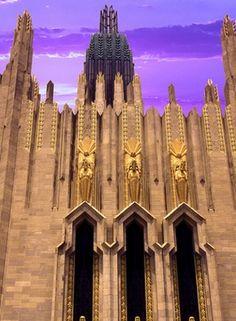 Art Deco Landmark in Tulsa, Oklahoma.