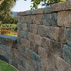 Rustic Stonewall Retaining Walls