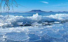 Lake Balaton in winter #Hungary....