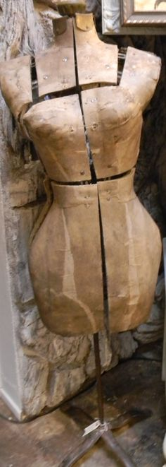 Very Old Vintage Dress Form