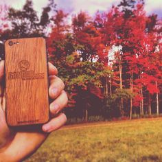 A Gander Mountain WOODCHUCK looks great outdoors. #Woodchuckcase #iPhoneCase #GanderMountain http://www.woodchuckcase.com/collections/customizable