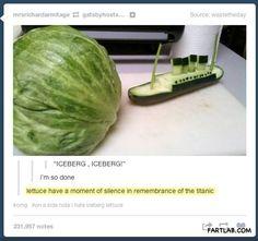 Veggie Titanic…