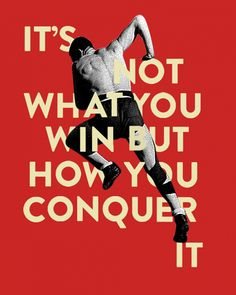 games, game winner, the color red, typograph game, sports memes, poster, collages, quot, design