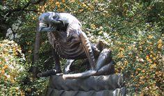 sculpture garden, person sculptur