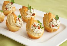 Fancy Crab-Filled Crowns