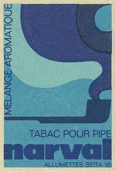 French matchbox label