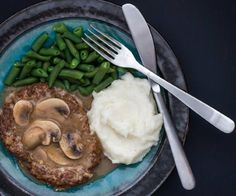 The Domestic Man stopped by to share an amazing salisbury steak recipe from his brand new book The Ancestral Table.