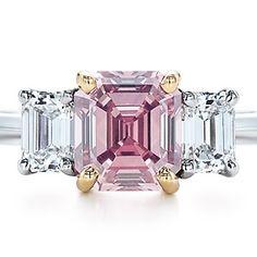 Pink diamond from Tiffany's