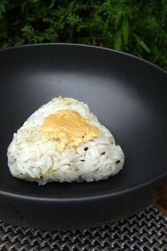 Vegetarian Sesame Spinach Onigiri