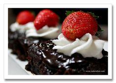 Chocolate water cake