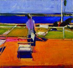 Figure On a Porch, Richard Diebenkorn 1959