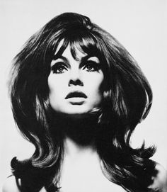 Jean Shrimpton, British model and It-Girl of the 60s.