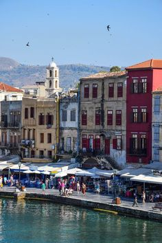 Chania Harbor - Crete, Greece