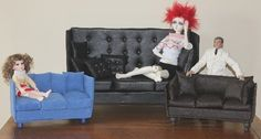 tutorial for doll couch (on DOA) by Joanne Cranston
