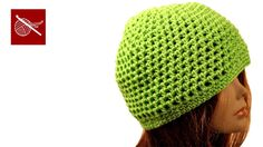 Crochet Mesh Cap Miley - Crochet Geek (+playlist)