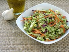 This broccoli slaw is a great recipe for Memorial Day, but it's also perfect for any day. It's a tasty vegetable dish that doesn't require cooking.