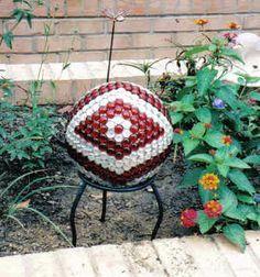 decorative bowling ball