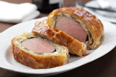Beef Wellington Recipe from Punchbowl...use ham instead of liver pate
