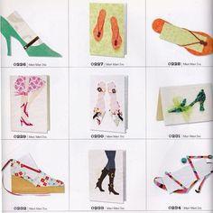 Shoe themed greeting cards...  Google Image Result for http://craftside.typepad.com/.a/6a00e55007f5938834014e8830a9a8970d-320wi