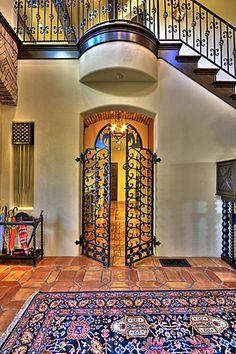 Love the inside gates