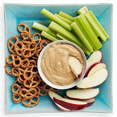 Peanut Butter Dip-cinnamon, vanilla yogurt, pb