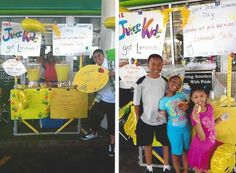 15% of the proceeds these kids made on June 9th at Lemonade Day Detroit went to Wigs 4 Kids!