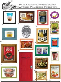 Best Trader Joe Products 2011. I can't even express how much I miss Trader Joe's.