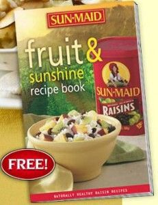 Free Fruit and Sunshine Recipe Book