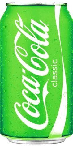 green coca-cola