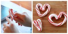 moulding candy canes